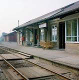 Havdrup Station. Jernbanen Roskilde - Køge. Siemens-Halske signalsystem