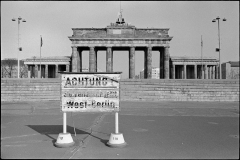 Brandenburger Tor set fra Vestberlin.