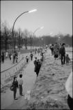 Berlin Muren Marts 1990 Die Mauer Berliner Mauer Brandenburger Tor
