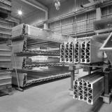 Scandia Randers, computerberegnede letvægtsprofiler i aluminium. Marts 1990.