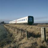 1989. Første togsæt på prøvekørsel.