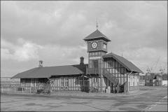 København Frihavn 1978 Frihavnsstationen