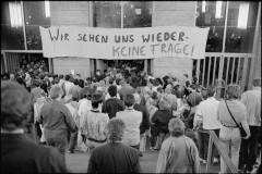 18. marts 1990 Østberlin Valgaften Sitz von ZK und Politbüro der SED Haus am Werderscher Markt Haus der Parlamentarier