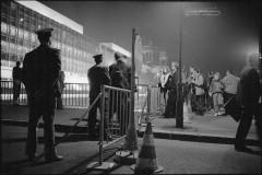 18. marts 1990 Østberlin Valgaften Rathausbrücke