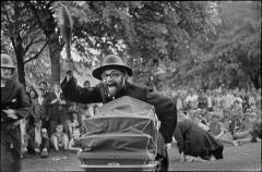 2. juni 1968. Gadeteater om politivold.